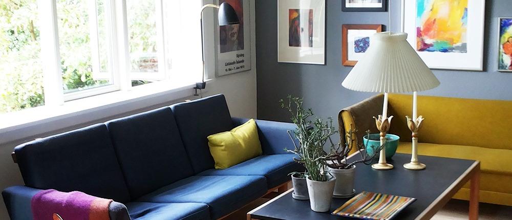 Malerarbejde stue Esbjerg